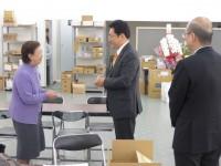 01_松本剛明候補選挙事務所 訪問 (1)