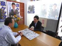 03_泉ケンタ候補選挙事務所 訪問 (1)