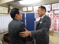 03_赤松広隆候補選挙事務所 訪問 (1)