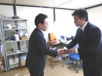 06_北神圭朗候補選挙事務所 訪問 (2)