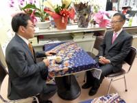08_古川元久候補選挙事務所 訪問 (2)