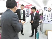 11_とね勝之候補選挙事務所 訪問 (1)