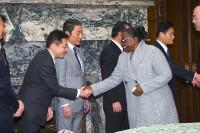 2モザンビーク共和国国民議会議長団 参議院議長表敬 (2)
